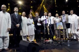 Wynton Marsalis & The Sachal Jazz Ensemble © Francis Vernhet