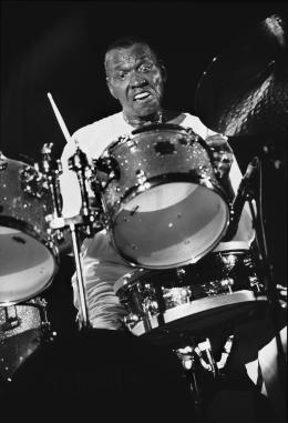 Elvin Jones (1998) © Francis Vernhet